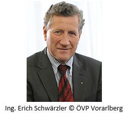 Ing. Erich Schwärzler © ÖVP Vorarlberg