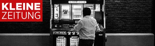 """""""Keine manipulierte Registrierkasse kann so viel Schaden anrichten wie ein illegales Spiellokal, in dem es weder Spielerschutz noch Jugendschutz gibt. """" - Montage © Spieler-Info."""