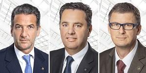Mag. Harald Neumann (Vorstandsvorsitzender, CEO), Mag. Thomas Graf (CTO), Mag. Peter Stein (CFO) (v.l.n.r.). Bilder: PD.