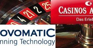 Novomatic wird CASAG-Anteile nicht veräußern